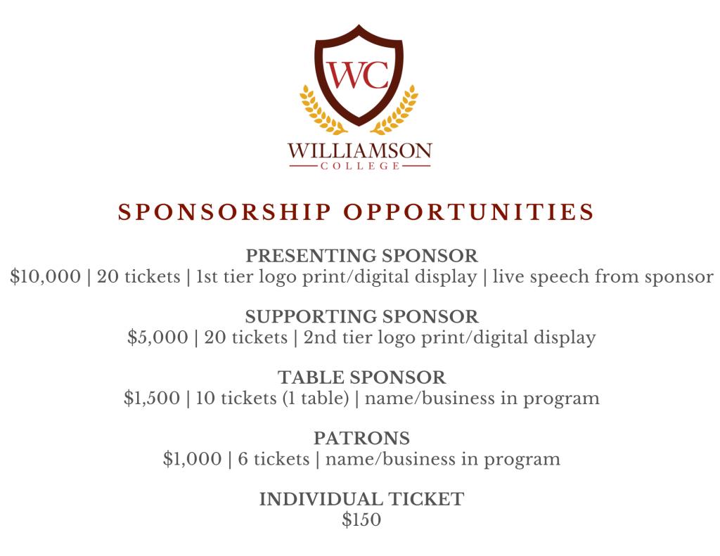 Sponsorship Opportunities Photo
